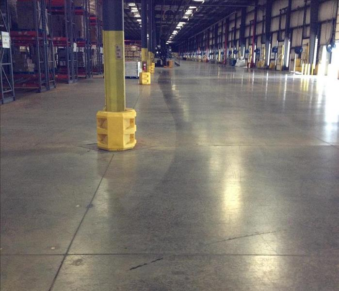Flooded Distribution Center in Williamsburg, VA After