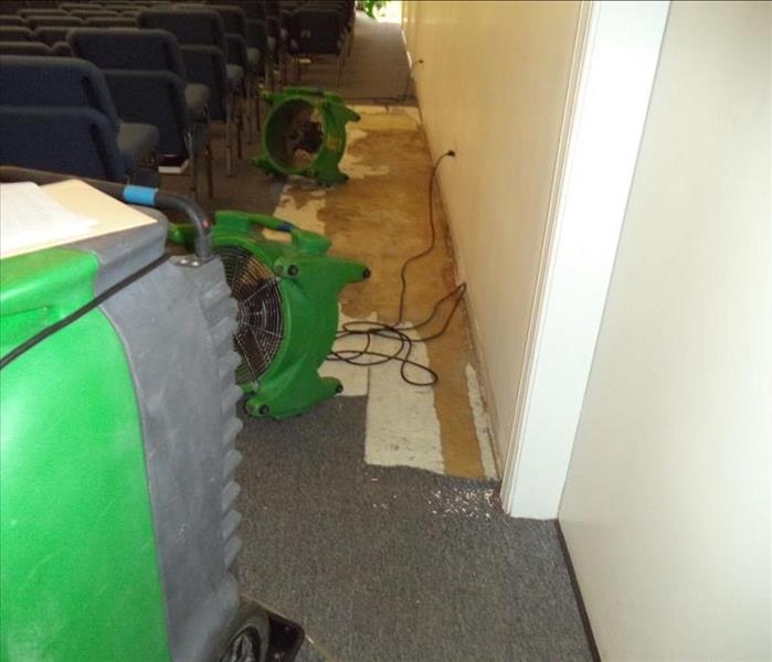 Commercial Church Water Damage